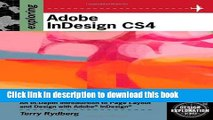 Download Exploring Adobe InDesign CS4 (Adobe Creative Suite)  PDF Free