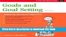 Read Crisp: Goals and Goal Setting, Third Edition: Achieving Measured Objectives Ebook Free