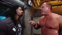 Kane kicks Roman Reigns off SmackDown  SmackDown, June 25, 2015