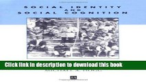 [PDF] Social Identity and Social Cognition Read Online