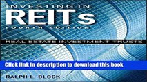 Read Investing in REITs: Real Estate Investment Trusts (Bloomberg)  Ebook Free