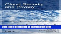 Read Cloud Security and Privacy: An Enterprise Perspective on Risks and Compliance Ebook Free