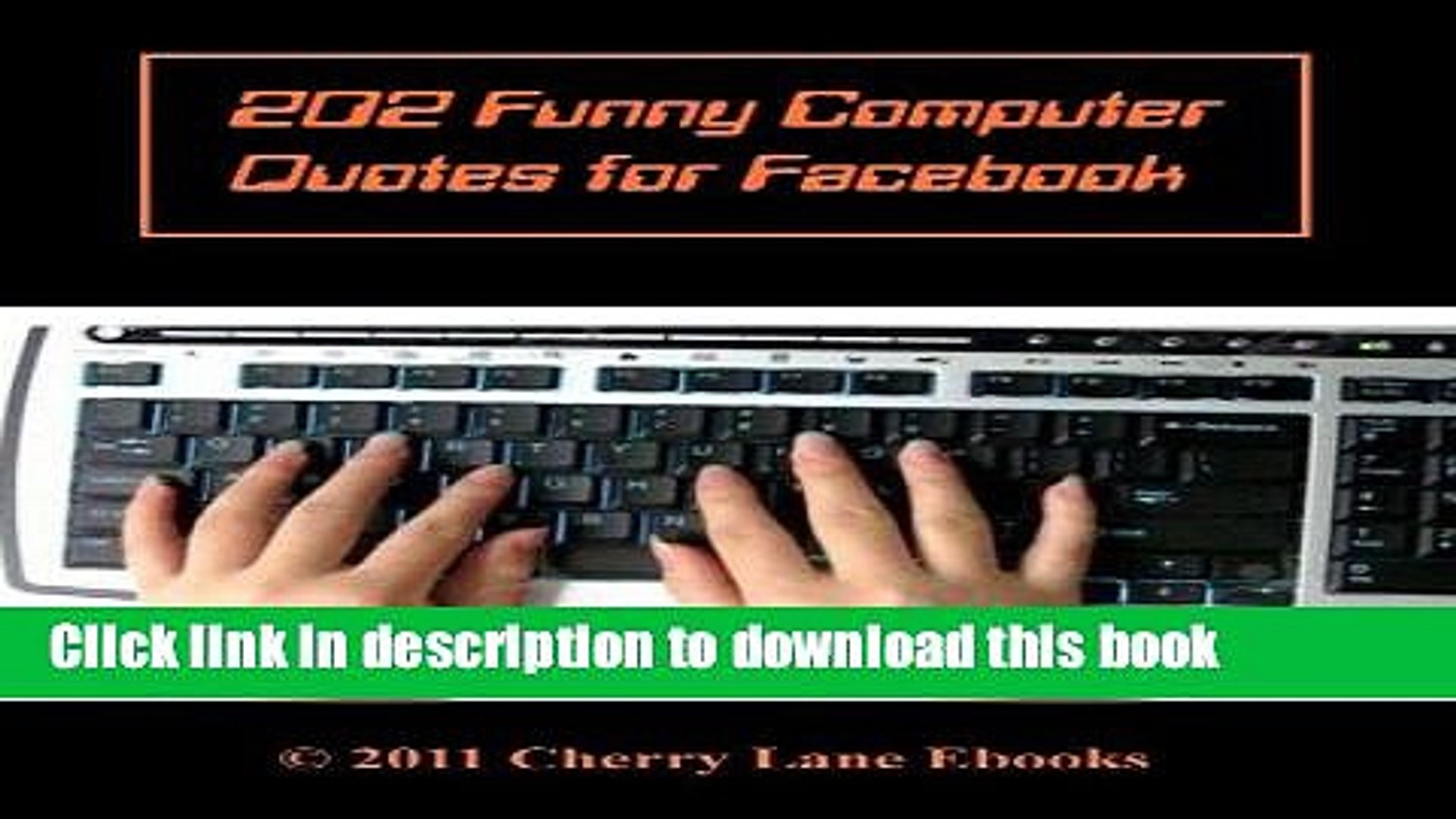 202 Funny Computer Quotes for Facebook