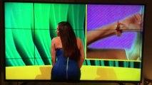 Craquage en direct : cette candidate de téléréalité aurait dû mettre une robe moins serrée !