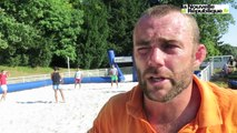VIDÉO. Joué-lès-Tours : le rugby se joue aussi sur le sable