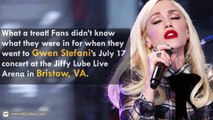 Gwen Stefani and Blake Shelton Performs 'Go Ahead & Break My Heart' In Virginia