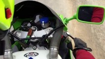 FANTASTIC SOUND ON BOARD KAWASAKI ZXR 400