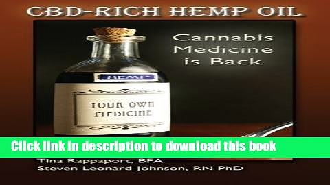 Read CBD-Rich Hemp Oil: Cannabis Medicine is Back  PDF Free
