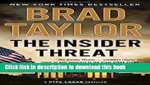 PDF The Insider Threat: A Pike Logan Thriller  EBook