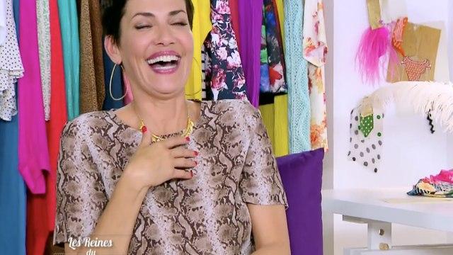 Énorme fou rire de Cristina Cordula dans Les reines du shopping - ZAPPING TELE DU 21/07/2016