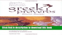 Download Greek Proverbs (Sayings, quotations, proverbs) PDF Online