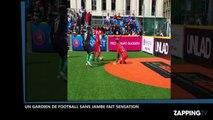 Football : Un gardien sans jambe fait le show lors de la Coupe du monde de football des sans-abri 2016 (Vidéo)