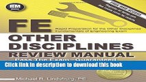 Read FE Other Disciplines Review Manual Ebook Online