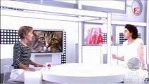 """Extrait sujet supplément santé Télématin: """"les pouvoirs des chats"""" au Chat Mallows Café"""