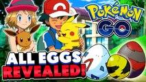 Pokémon GO - All Egg Pokemon Revealed + Best Hatching Methods! (Tips & Tricks #3)