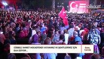 vatandaşlarımız ve şehitlerimiz için duâ ediyor-Cübbeli Ahmet Hocaefendi
