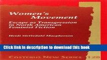 [PDF] Women s Movement: Escape As Transgression in North American Feminist Fiction. Costerus Ns