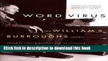 Download Word Virus: The William S. Burroughs Reader (Burroughs, William S.) Ebook Free