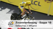 Zusammenfassung - Etappe 18 (Sallanches / Megève) - Tour de France 2016