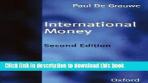 Read Books International Money: Postwar Trends and Theories PDF Free