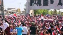 Mohamed Al-Daradji  Speech against corruption in Baghdad demonstrations Friday 17th of July 2016