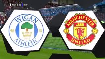 Wigan Athletic 0-2 Manchester United Goals and Highlights - Club Friendly