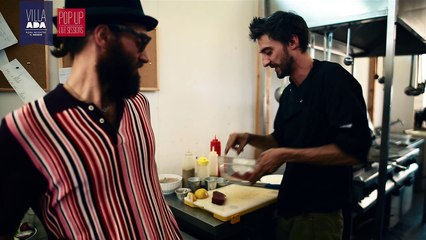 Come si prepara una tartare con ingrediente speciale - Villa Ada 2016 - Viteculture- ArciRoma
