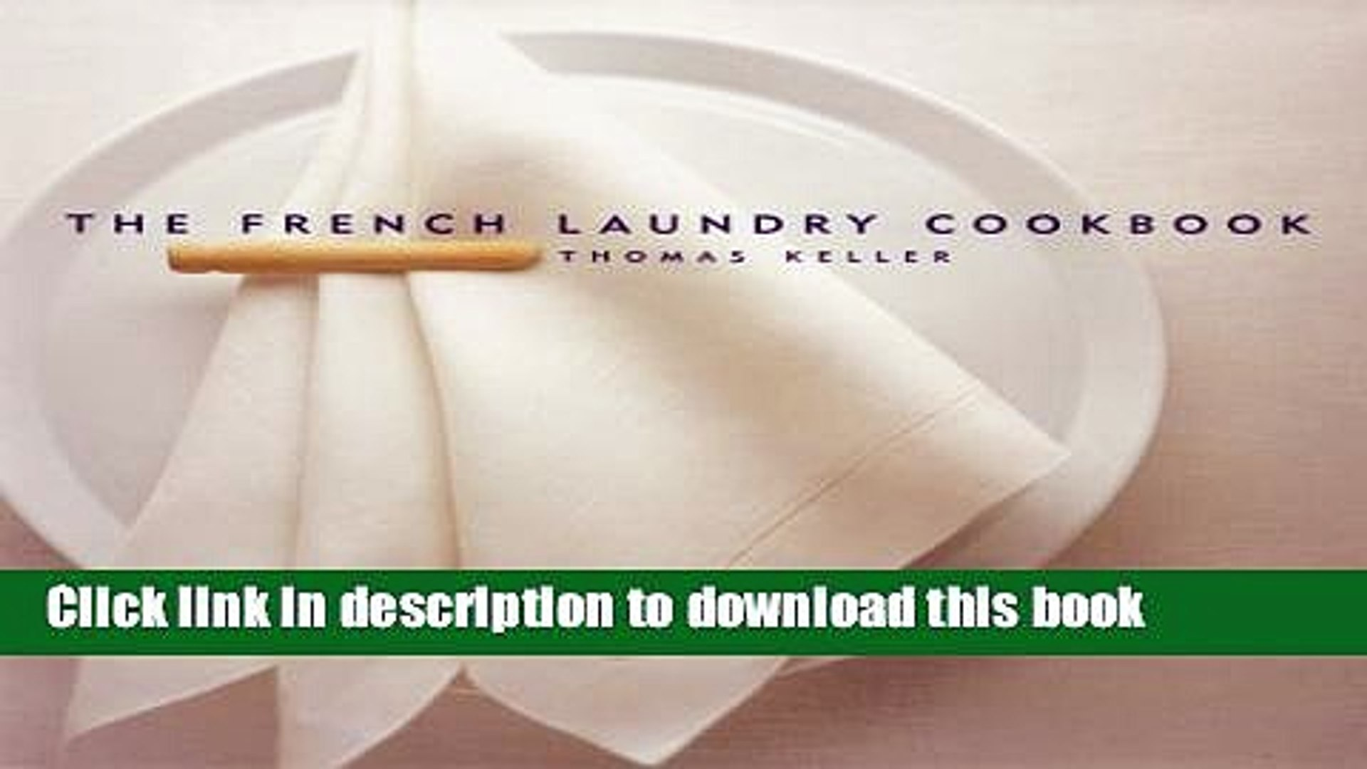 French Laundry Cookbook Ebook Free ...