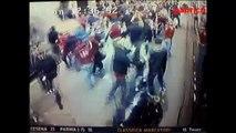 Incidenti tifosi Pullman Juventus,scontri allo stadio Torino Juve 2 1 gol Pirlo Darmian Quagliarella