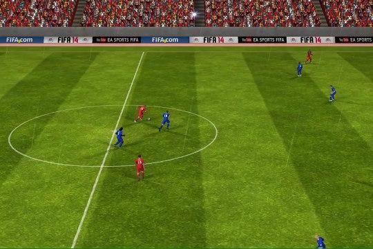 FIFA 14 iPhone-iPad - Liverpool vs. Cardiff City