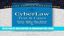 Read CyberLaw: Text and Cases  Ebook Free