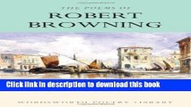 Download Robert Browning: Selected Poems [Download] Online