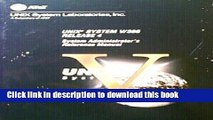 Download UNIX System V Release 4.0 System Administrator s Reference Manual by The UNIX System