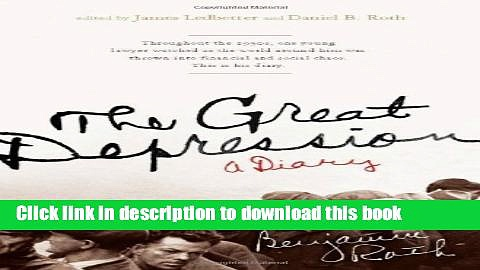 Read The Great Depression: A Diary PDF Free