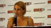 Gillian Anderson at FanExpo August 26 2012 - Answering Fan Questions