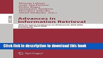 Read Advances in Information Retrieval: 28th European Conference on IR Research, ECIR 2006,
