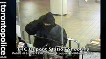 TTC Ticket Collector Shooting Suspect To ID by Toronto Police 416-808-7350 * TTC Offers Reward