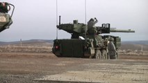 The Stryker the World Most Polyvalent Armored Personnel Carrier in Action With  US Soldiers