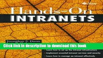 Read Hands-On Intranets (Sun Microsystems Press) by Dasan Vasanthan S. Ordorica Luis R.