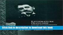 Download Litterature Francaise: Textes et Contextes (French Edition) [PDF] Online