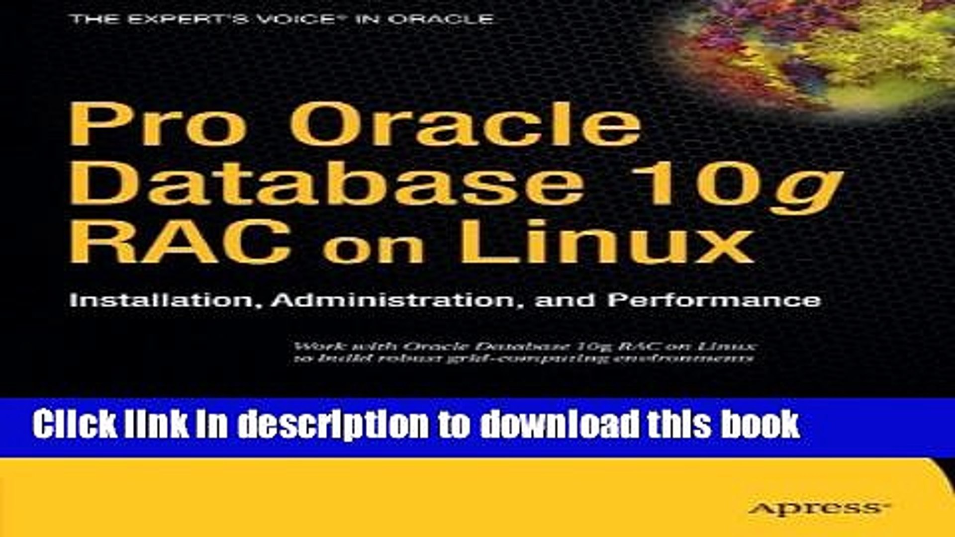 Read Pro Oracle Database 10g RAC on Linux: Installation, Administration,  and Performance (Expert s