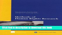 [PDF]  Methods of Human Rights Research  [Read] Online
