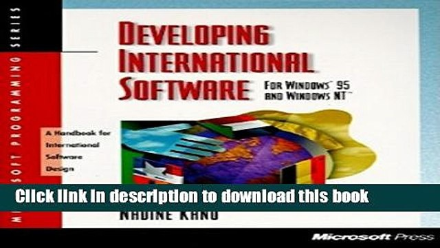 Read Developing International Software for Windows 95 and Windows NT (Microsoft Programming
