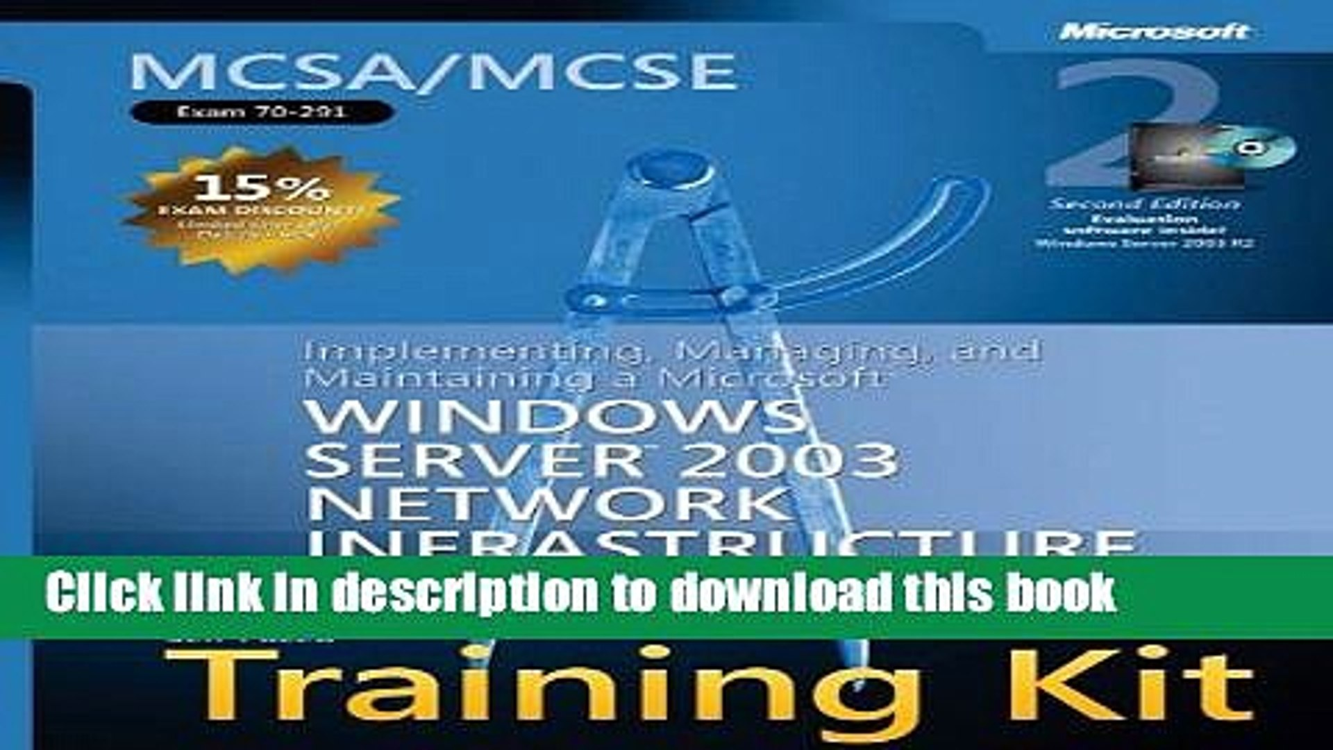 Read MCSA/MCSE Self-Paced Training Kit (Exam 70-291): Implementing, Managing, and Maintaining a
