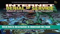 New Pdf Internet Denial Of Service Attack And Defense Mechanisms
