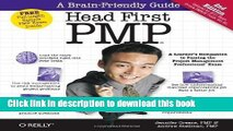 [PDF] Head First Pmp: A Brain-Friendly Guide to Passing the Project Management Professional Exam