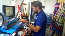 Paroles de technicien : Mickael Monnin, artisan créateur des structures des skis du nordique