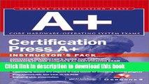 Read Instructor s Manual: Im Cert Press A+ Instructors Pack  Ebook Free