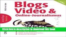 Read Blogs, Video   Online-Journalismus Ebook Free