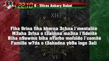22:10 : 6 - Ultras Askary Rabat